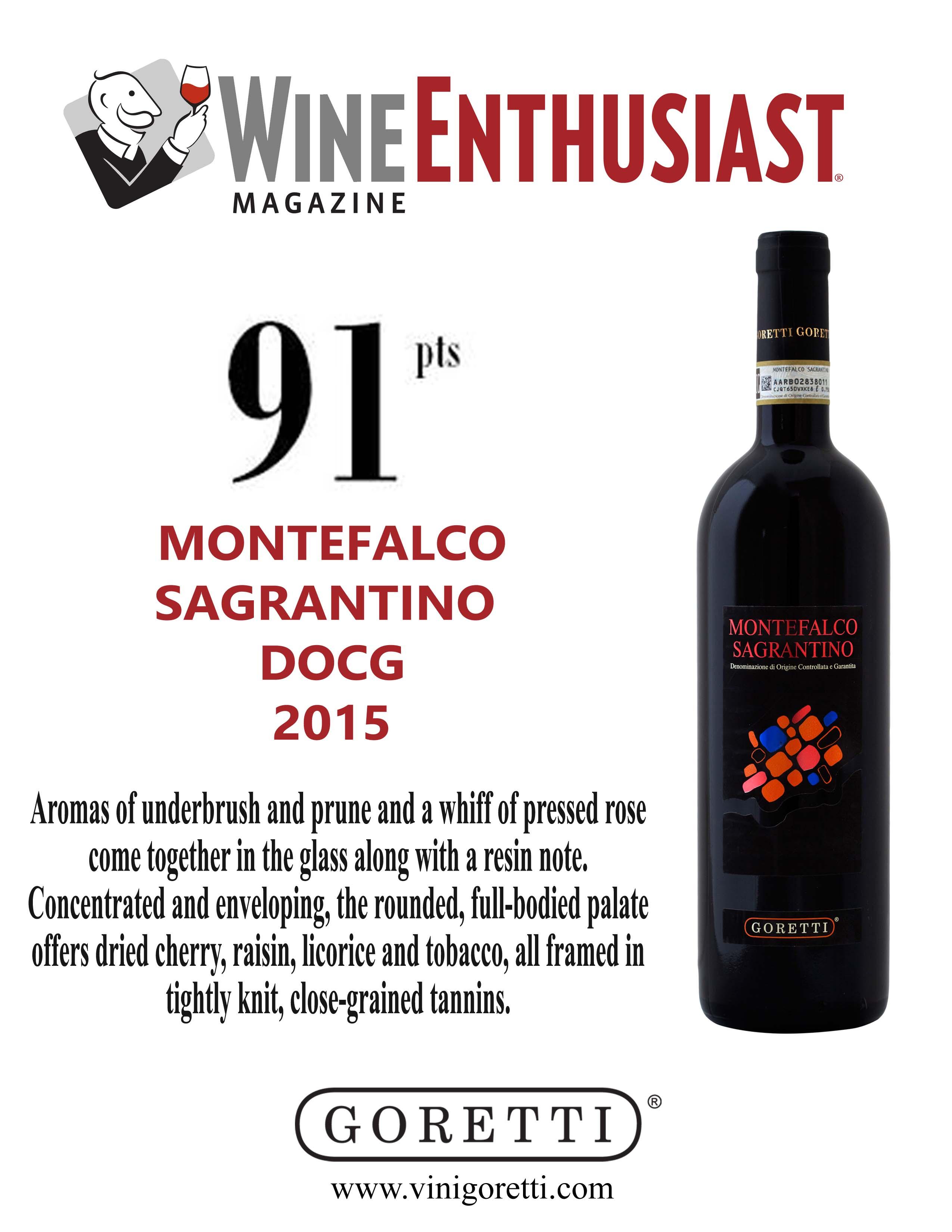 Montefalco Sagrantino DOCG 2015