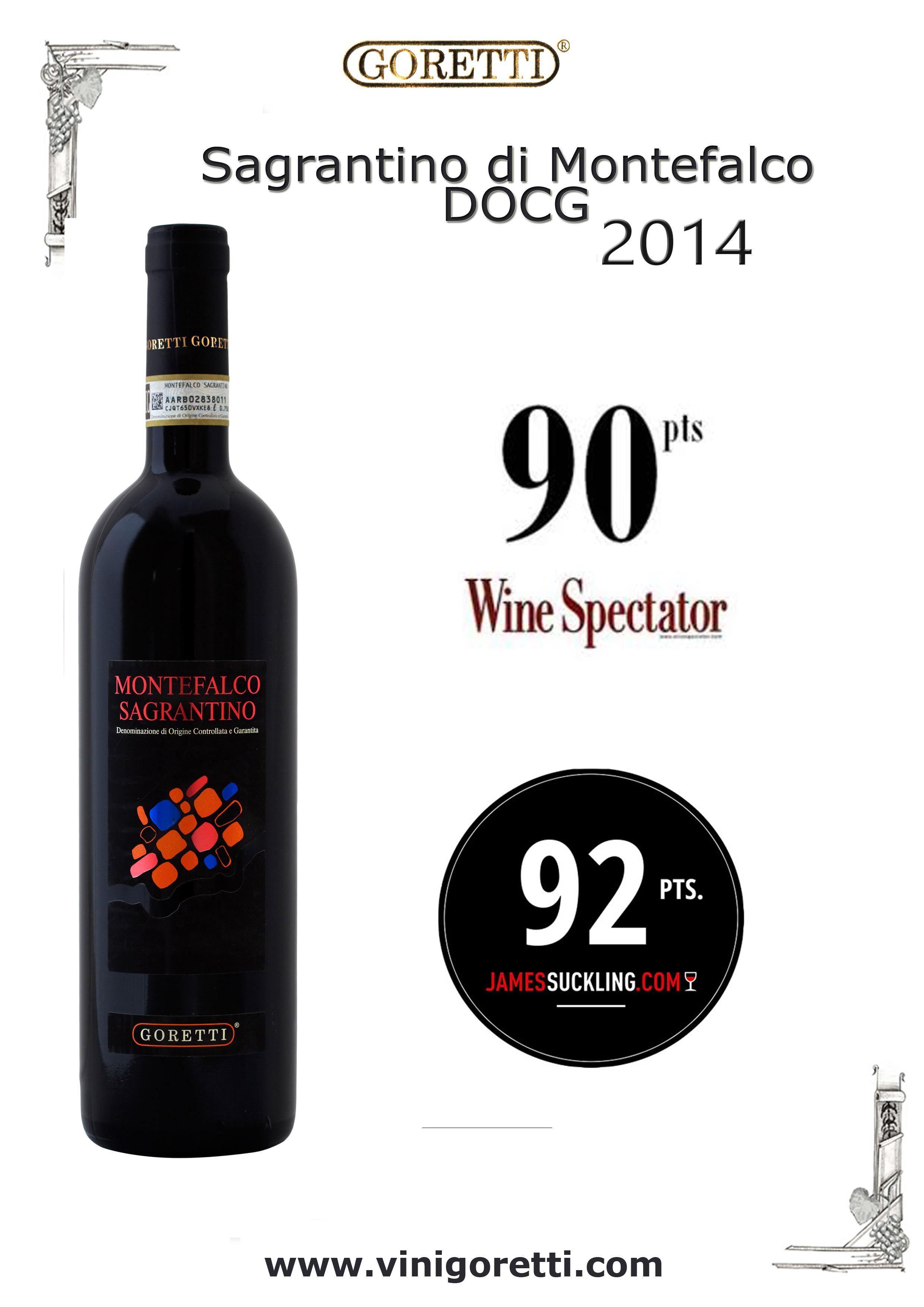 Sagrantino Montefalco DOCG 2014