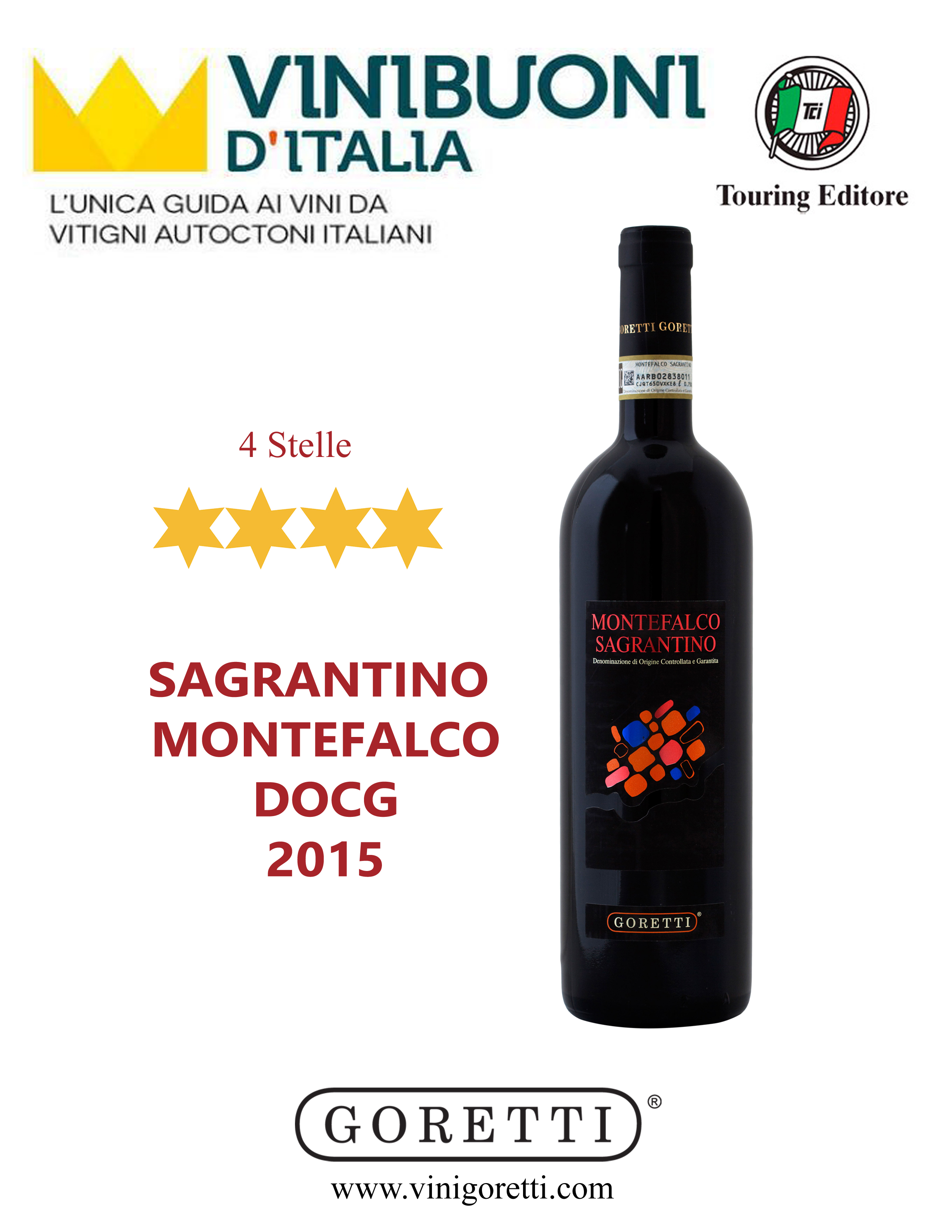Sagrantino Montefalco DOCG 2015 4 Stelle